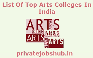 List Of Top Arts Colleges In India