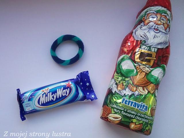 prezent milkyway czekoladowy Mikołaj