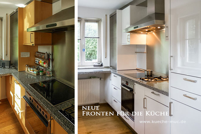 Wir renovieren Ihre Küche  Dekor der Fronten löst sich nach - klebefolie kueche kuechenmoebel