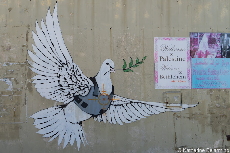 Banksy Dove Half-Day Tour of Bethlehem Jesus Birthplace