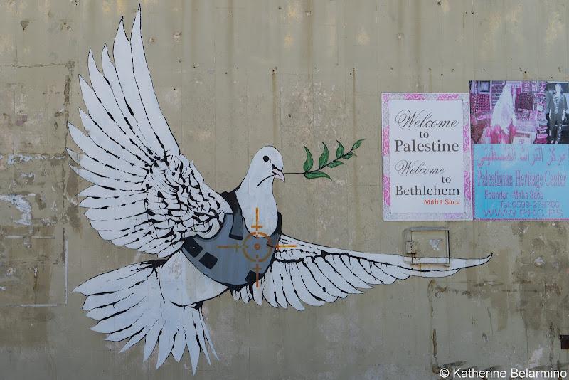 Banksy Dove Half-Day Tour of Bethlehem Jesus Birthplace