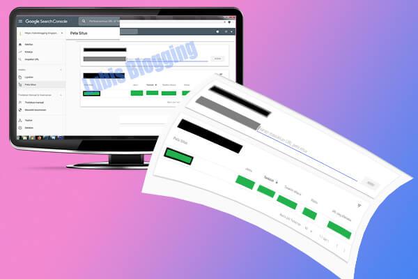 memasang sitemap di blogger