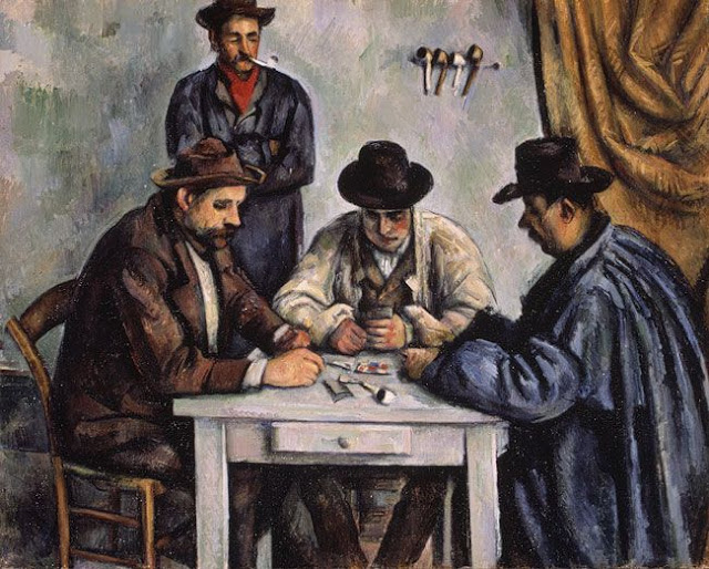 "Paul Cezanne  ""The Card Players"""