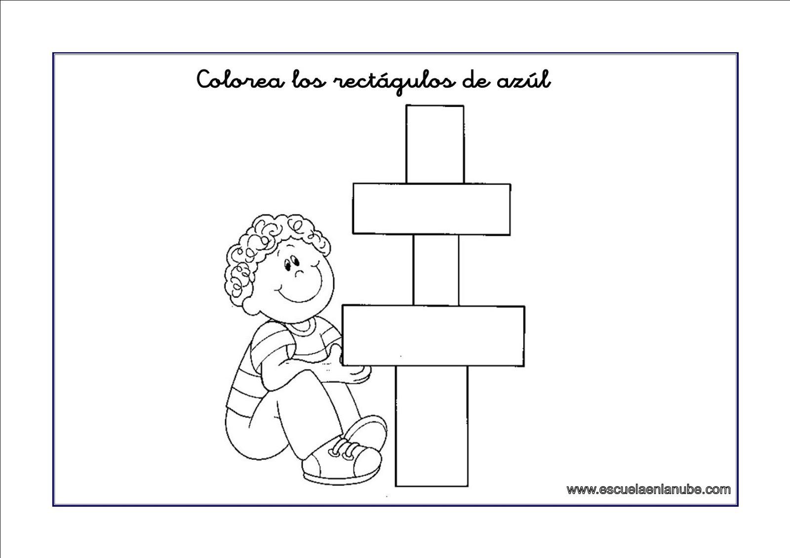 Trabajando En Educación Infantil 10 Fichas Para Identificar