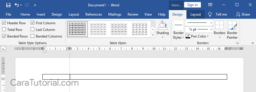 Cara Membuat Kop Surat di Microsoft Word yang Bagus dan Rapi
