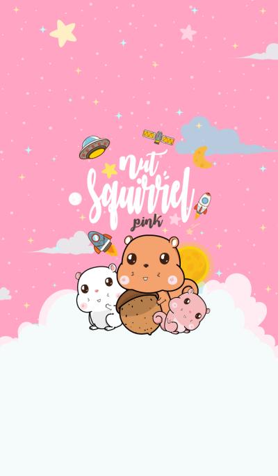 Squirrel Galaxy Pink