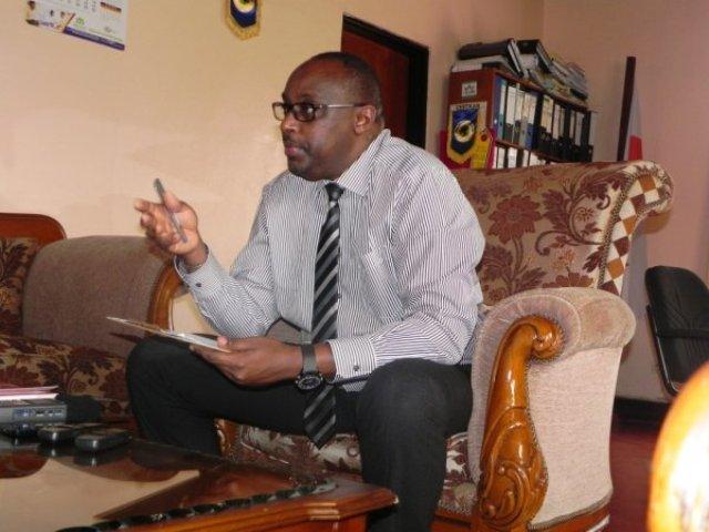 Umunyamabanga Mukuru wa CESTRAR Manzi Eric