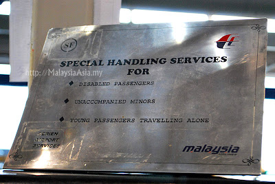 Special Handling Service Malaysia Airlines