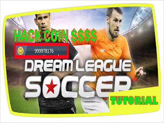 cara hack coin game dream league soccer