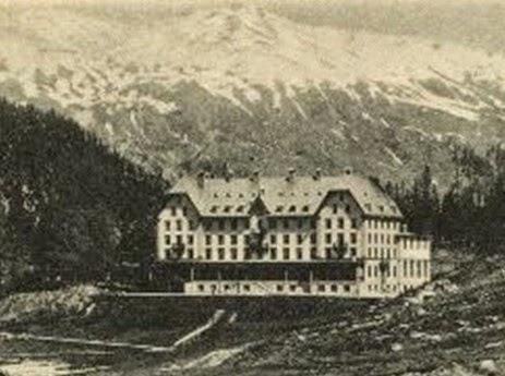 Basler Sanatorium, Davos 1900