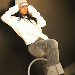 Andrea Rincon, Selena Spice Galeria 19: Buso Blanco y Jean Negro, Estilo Rapero Foto 34