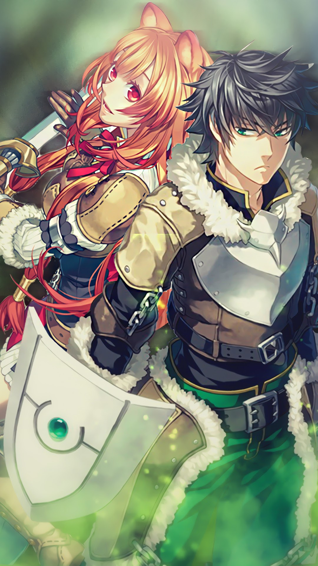 The Rising Of The Shield Hero Naofumi Iwatani Raphtalia 4k