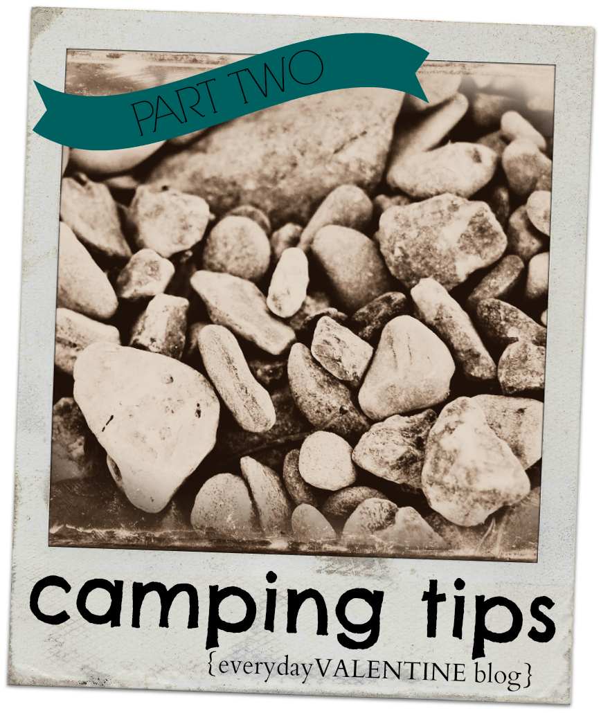 General Tips for a Nice Camp-part II