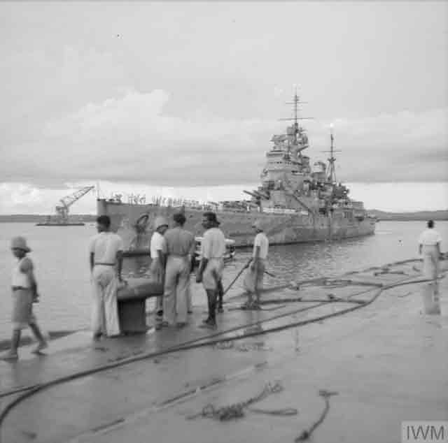HMS Prince of Wales in Singapore, 2 December 1941 worldwartwo.filminspector.com