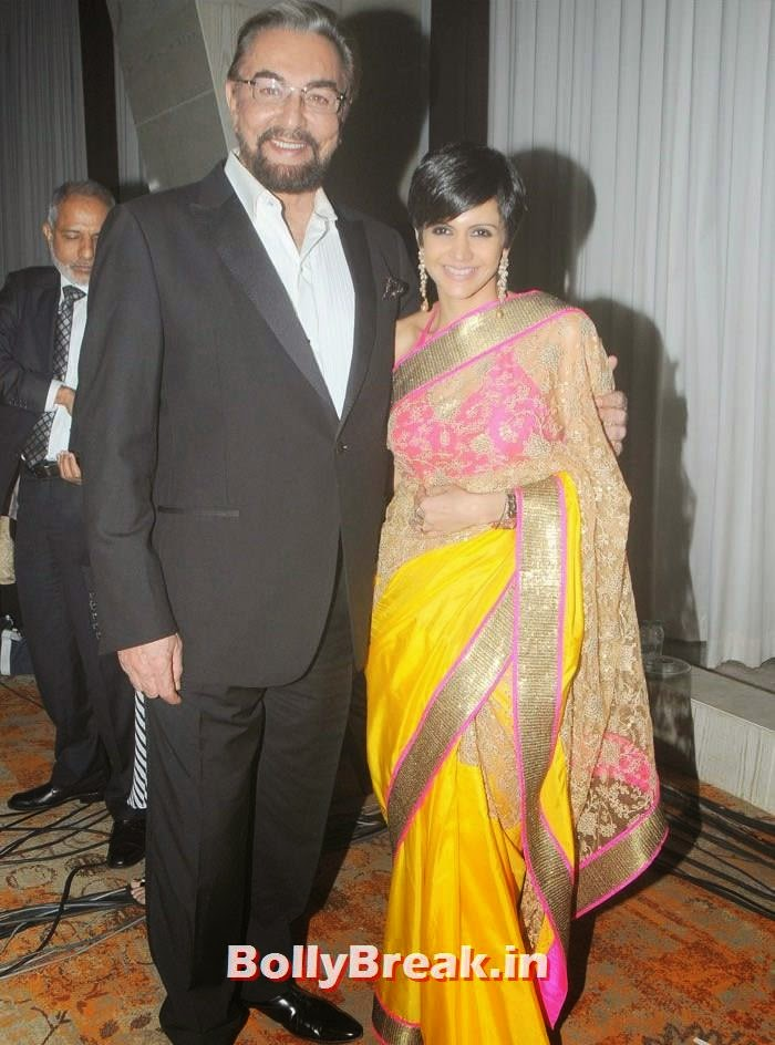 Kabir Bedi, Mandira Bedi, Photos from Inauguration of ACETECH 2014