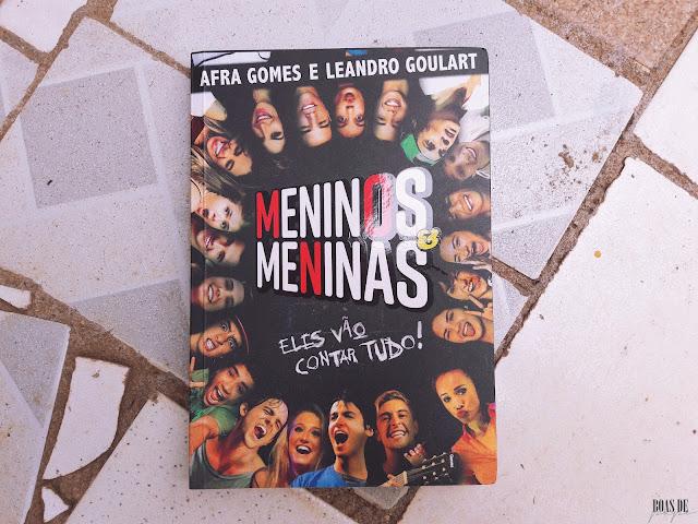 Livros lidos em fevereiro- MENINOS E MENINAS
