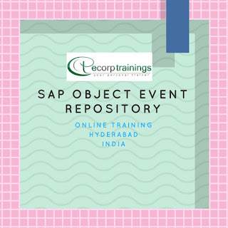 Sap Object Event Repository training