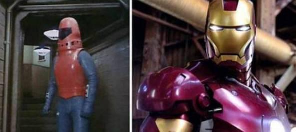 Perbedaan Penampilan Iron Man jaman dulu dan sekarang