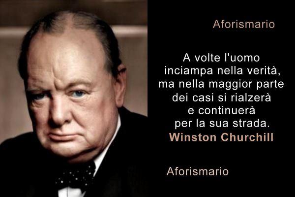 Aforismario Frasi Celebri E Battute Ironiche Di Winston Churchill