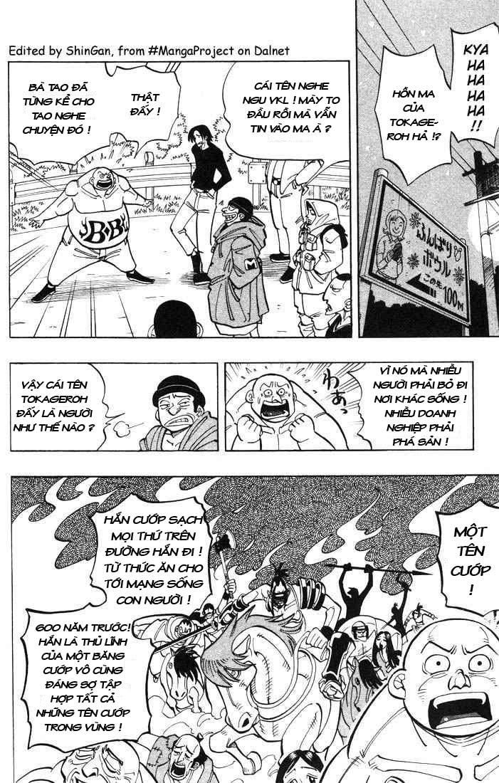 Shaman King [Vua pháp thuật] chap 19 trang 4