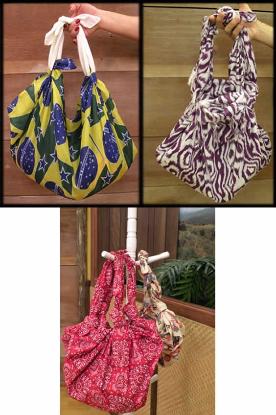 Bolsa De Tecido Feita Com Nós : Eu amo artesanato bolsa feita com n?s