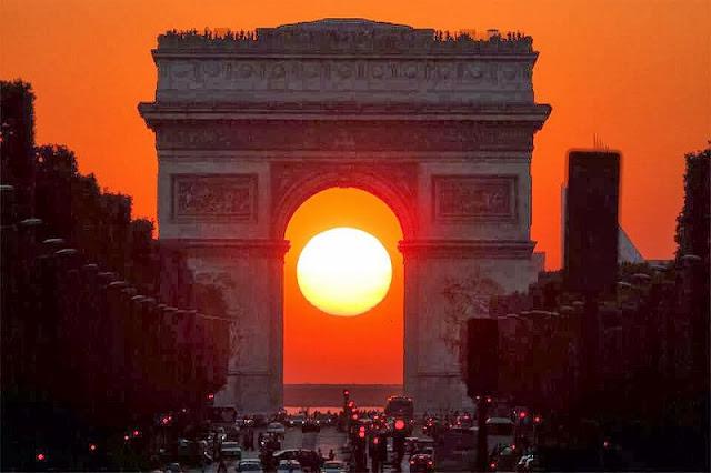 Lugares para ver o pôr do sol em Paris