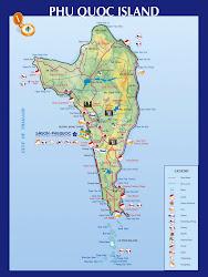 Mapa de Phu Quoc