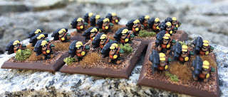GW Epic Squats Devastator squad heavy support 6mm painted MSP HD