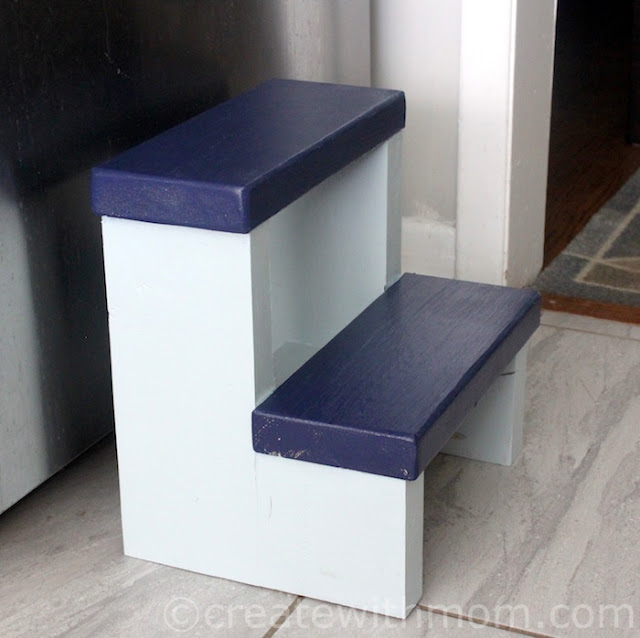 step stool DIY
