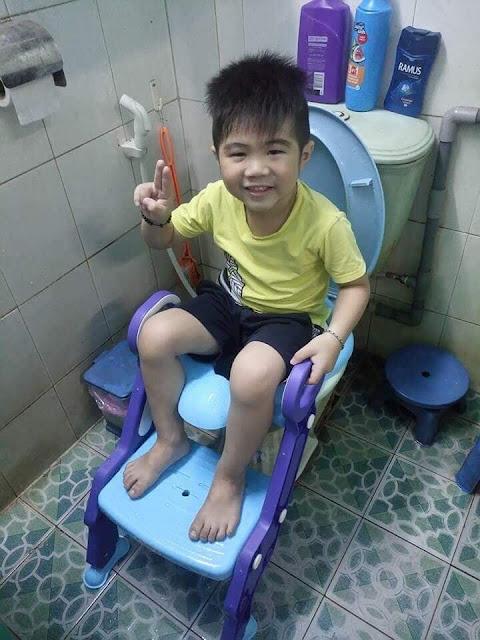 Mua nắp bồn cầu ngồi toilet cho trẻ em ở đâu giá rẻ nhất?