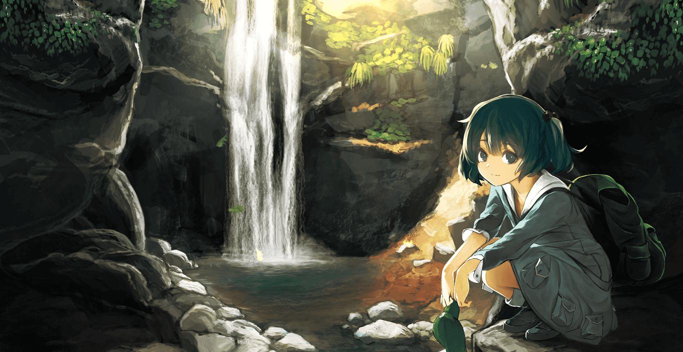 Kawashiro Nitori 河の便利屋さん 河城荷取 [東方] [Wallpaper Engine Anime]