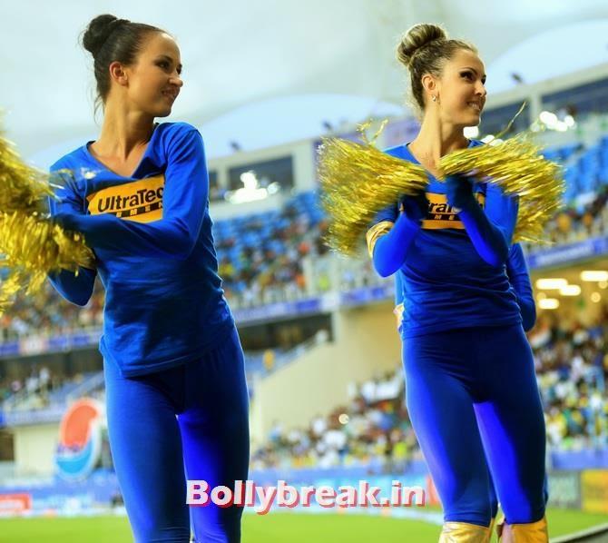 Rajasthan Royals cheerleaders, Which team has the sexiest cheerleaders in the IPL 7