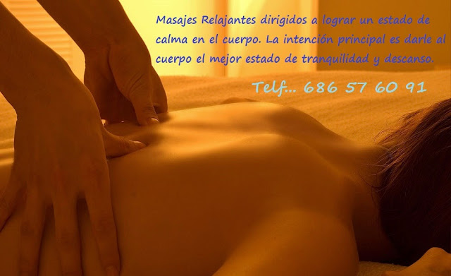masaje relajante en Madrid