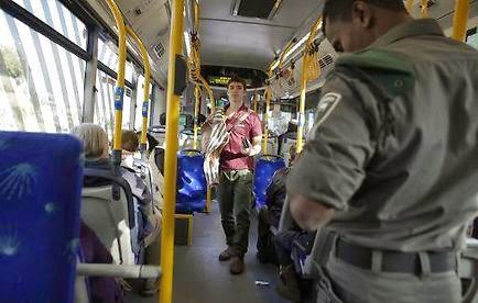 """Les chauffeurs palestiniens de bus de Jérusalem disent """"stop"""""""