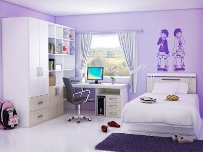 Desain Kamar Anak Remaja Perempuan