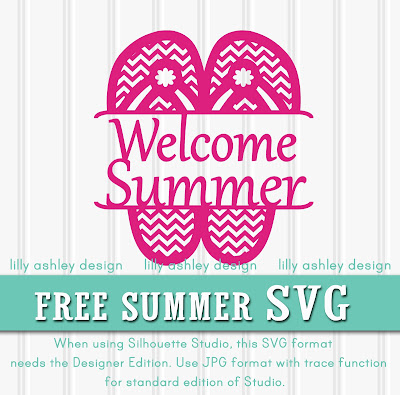 Freebie SVG File For Summer by lilly ashley