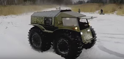 Γνωρίστε το Ρώσικο στρατιωτικό όχημα Sherp