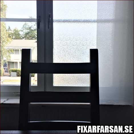 plastfilm köksfönster hindra insyn
