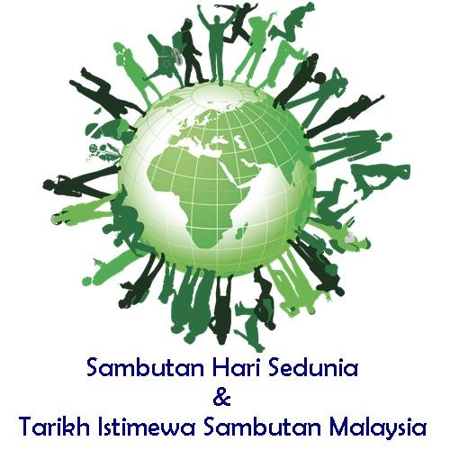 sambutan hari sedunia, hari sambutan 1 dunia, sambutan hari dunia, tarikh istimewa sambutan malaysia, tarikh sambutan hari dunia setiap tahun, sambutan hari sedunia bulan januari, februari, mac, april, mei, jun, julai, ogos, september, oktober, november, disember