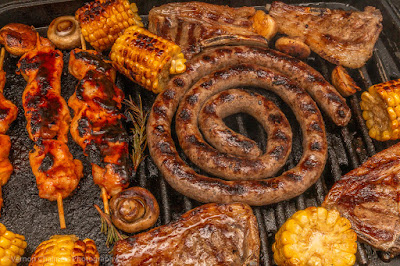 In-Studio Braai Weekend Cooking - Image Copyright Vernon Chalmers Food Photography
