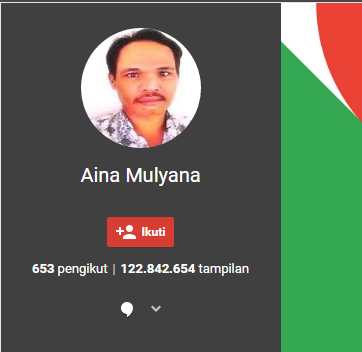 gambar profil aina mulyana