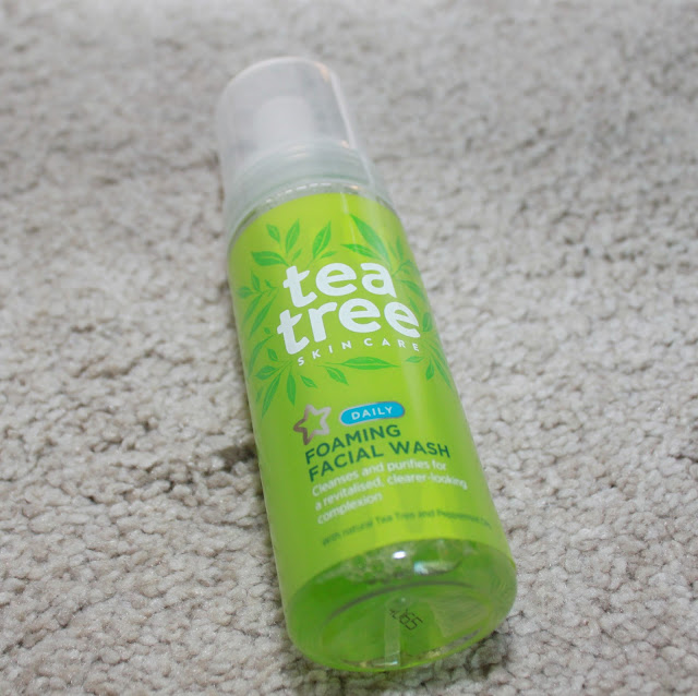 SUPERDRUG TEA TREE FOAMING FACIAL WASH