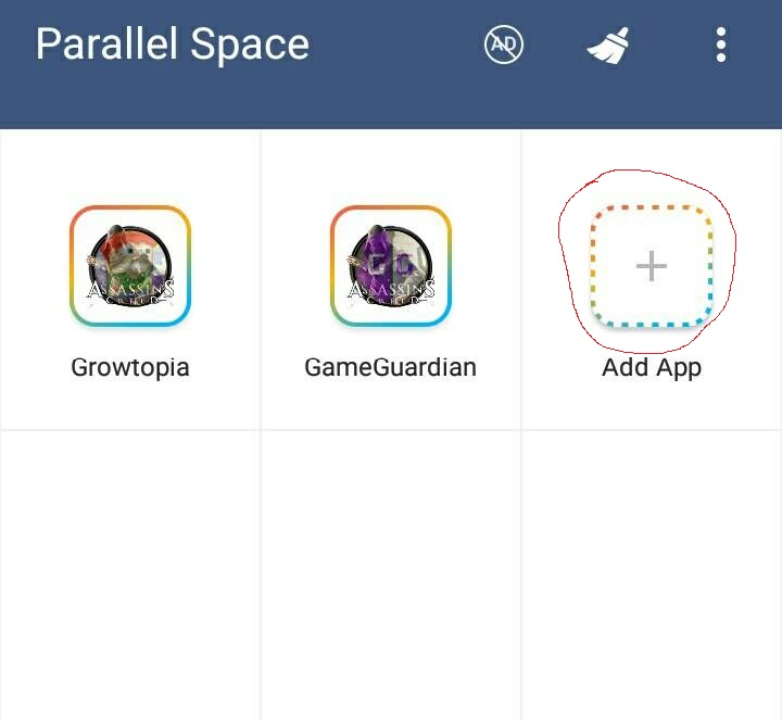 Cara 1Hit Break di Game Growtopia Menggunakan Parallel Space
