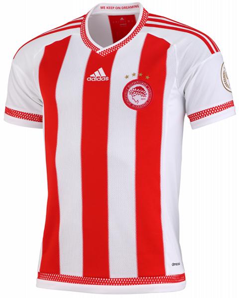 3d3291a03d Adidas lança novas camisas do Olympiacos - Show de Camisas