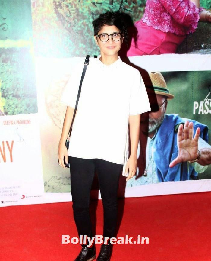 Kiran Rao, Kangna, Mughda, Kriti attend 'Finding Fanny' Special Screening