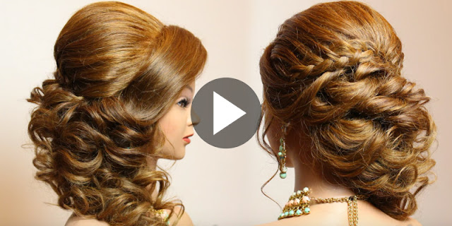 Learn - How To Create This Simple Bridal Hairstyle, See Tutorial