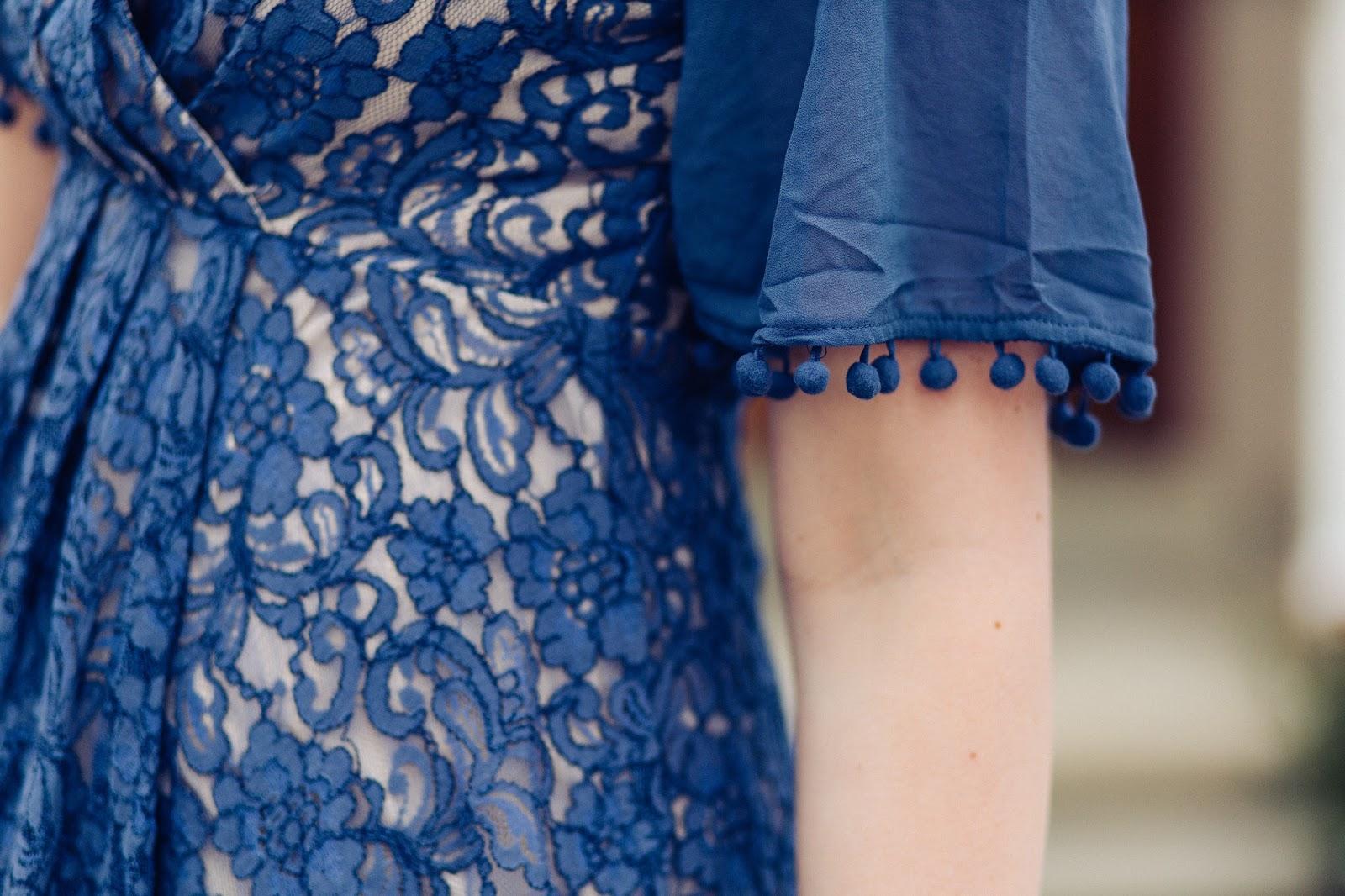 Lace Details, Lace Dress, Tassel Dress