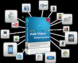 تحميل برنامج full video converter محول جميع صيغ الفيديو برابط مباشر