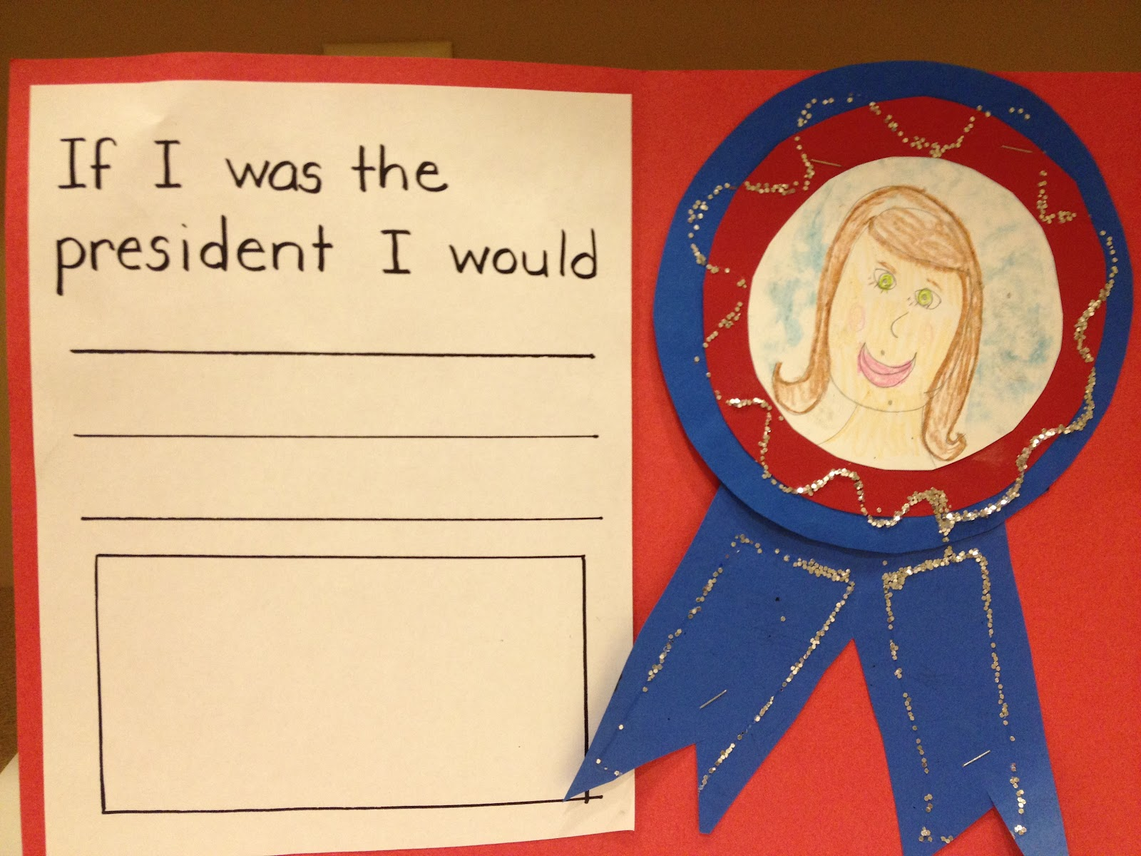 My First Grade Backpack President S Day