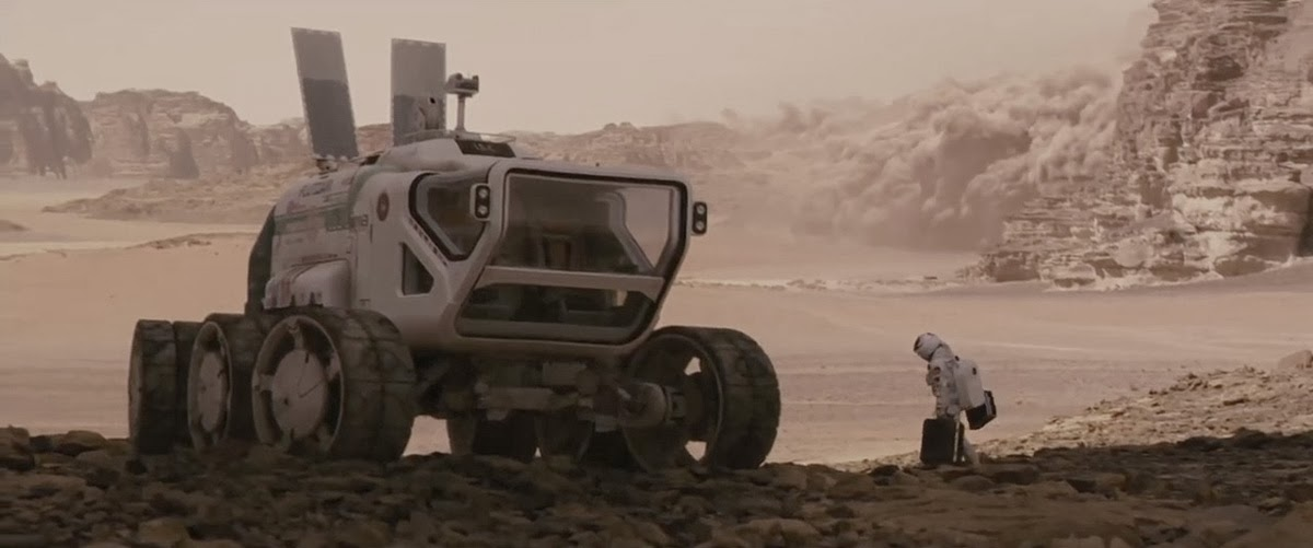 Christian Pearce: The Last Days on Mars - Rover Concept